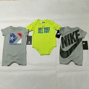 Baby Infant Nike & Converse Outfits Bundle 6 month